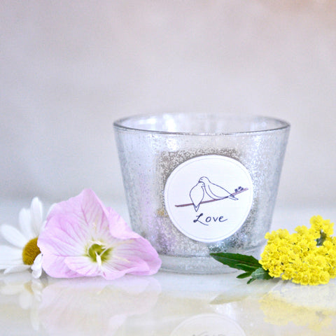 Love Doves Candle