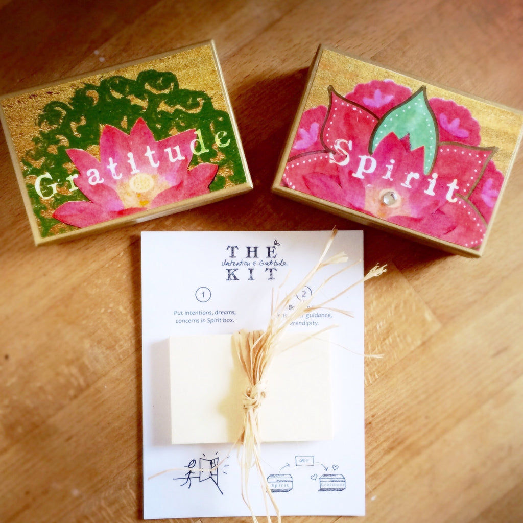 Handmade Mini Intention Kit - Lotus design