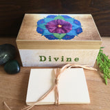 Handmade Intention Kit - Purple flower design