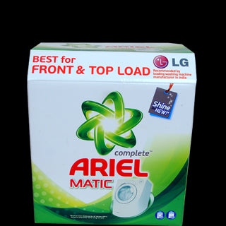 Ariel Detergent Powder - Matic Complete (for Front & Top Load), 500 gm  Pouch ,1 kg Carton
