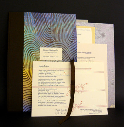 2002 Broadsides Reading Series Portfolio