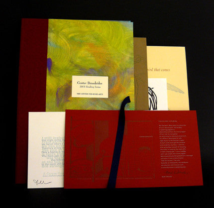 2003 Broadsides Reading Series Portfolio