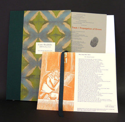 2005 Center Broadsides Reading Series Portfolio