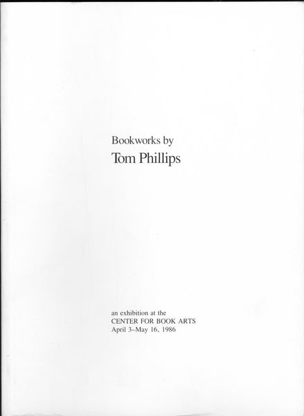 Bookworks by Tom Phillips
