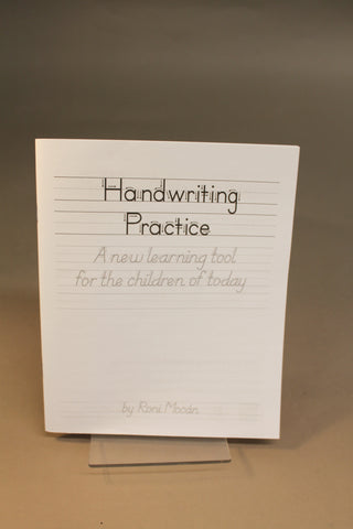 Handwriting Practice- A New Learning Tool for the Children of Today by Roni Mocán