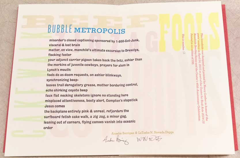 Bubble Metropolis by Anselm Betrigan & LaTasha N. Nevada Diggs