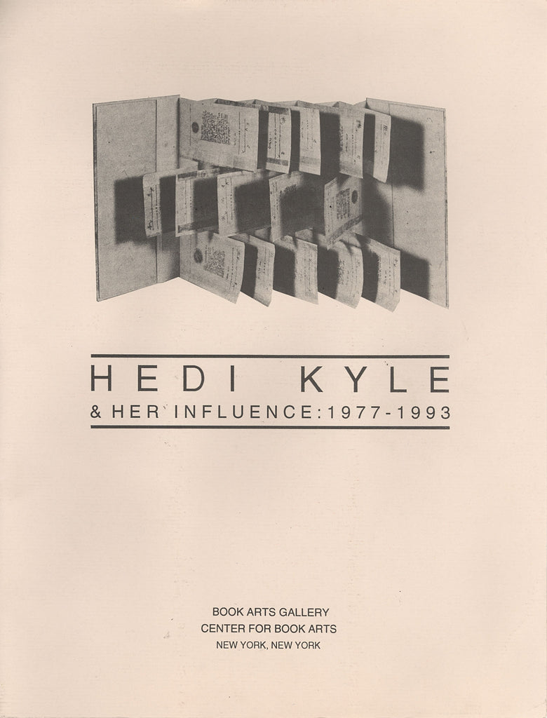 Hedi Kyle and Her Influence 1977-1993