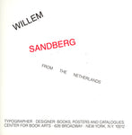 Willem Sandberg, from the Netherlands
