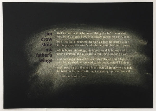 Jim Crow Stole My Father's Wings by Evie Shockley