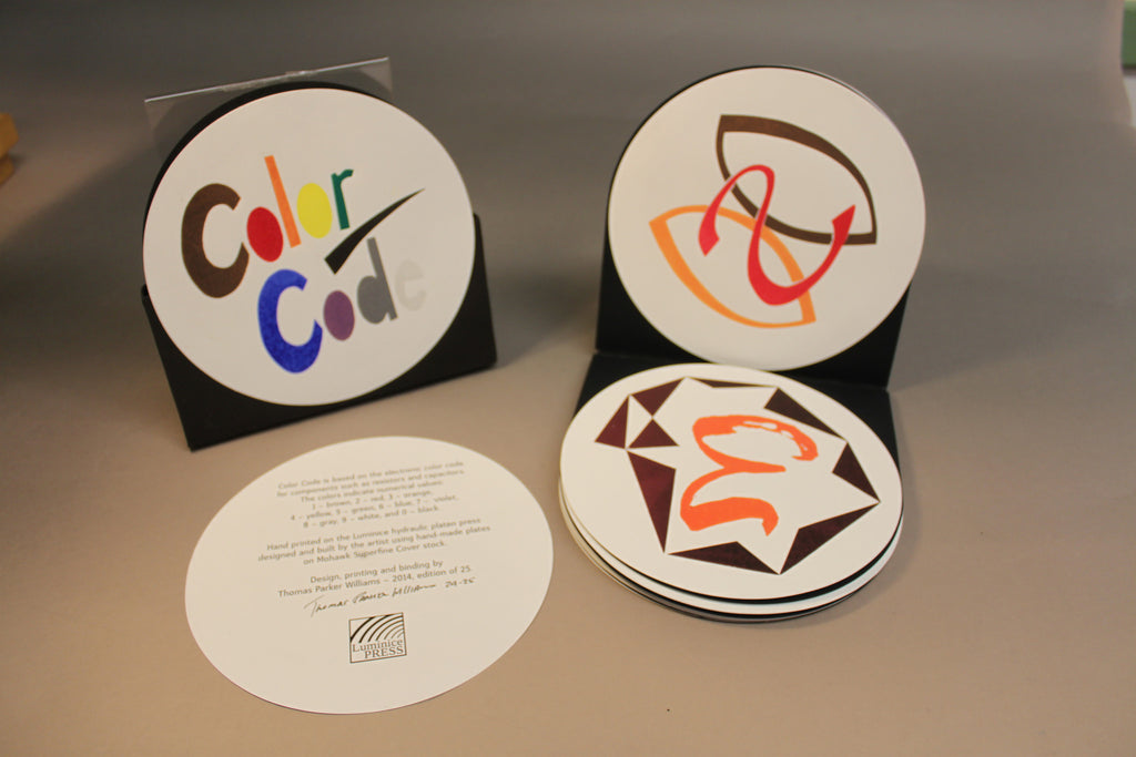 Color Code by Thomas Parker Williams – The Center for Book Arts