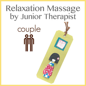 Relaxation Massage for Couple
