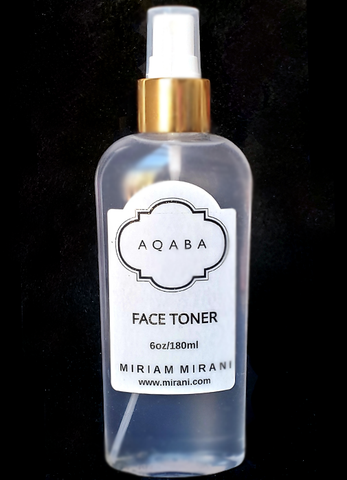 ROSE FACE TONER SPRAY 6oz/180ml