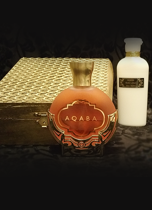 AQABA Gift Set: 3.4oz Fragrance with 6oz Body Lotion