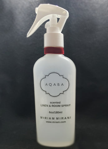 AQABA LINEN and Room Spray- 6oz/180ml