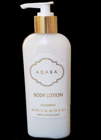 AQABA Perfume<br>Body Lotion - Goat's Milk