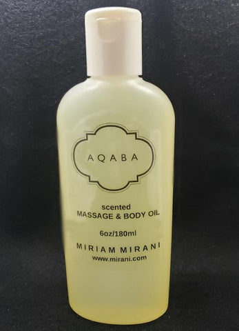 AQABA Perfume<br>Massage, Bath and Body Oil