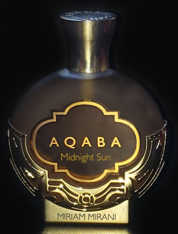 AQABA Perfume<br>MIDNIGHT SUN - FREE USA Shipping