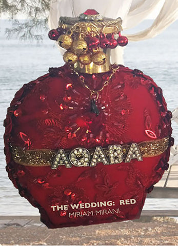 AQABA WEDDING: RED -               FREE WORLDWIDE SHIPPING