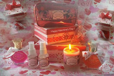 VALENTINE'S DAY Gift Set - USA FREE SHIPPING; REST of WORLD $85 Flat Rate via COURIER