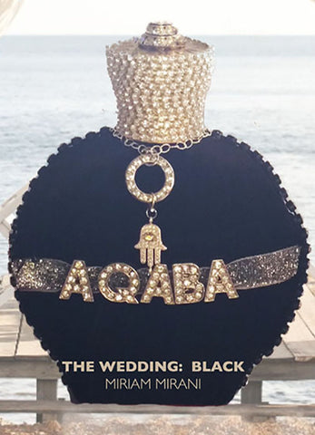 AQABA WEDDING: BLACK - FREE WORLDWIDE SHIPPING