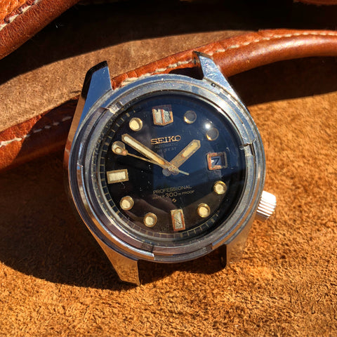 Vintage Seiko Hi Beat 6159-7001 Divers Automatic Wristwatch 1960's