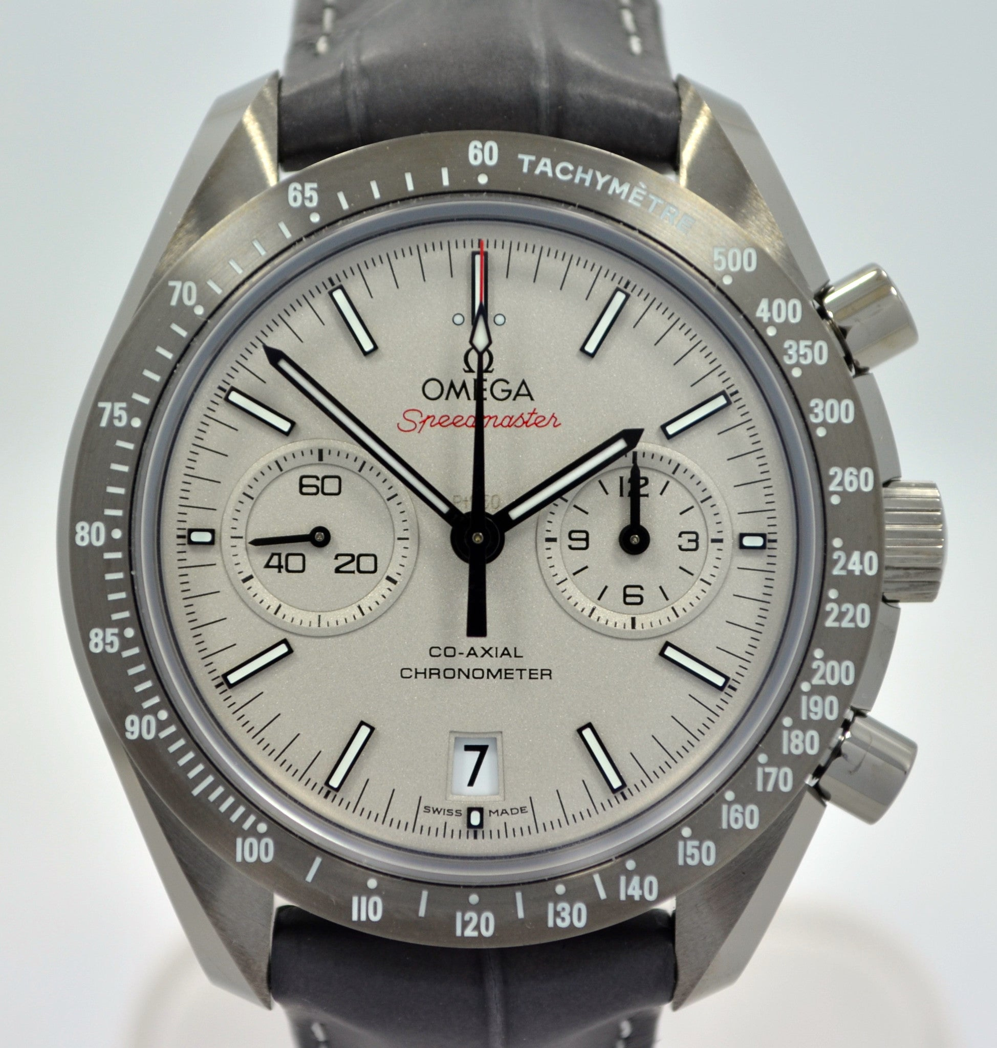 Omega Speedmaster Grey Side of the Moon 311.93.44.51.99.001 Ceramic Watch - Hashtag Watch Company