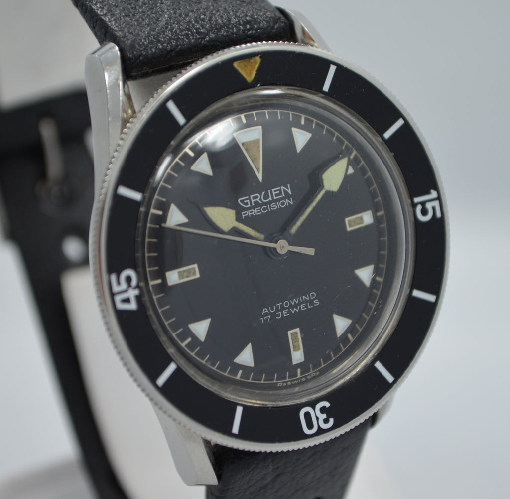 Vintage Gruen Precision Ocean Chief Waterproof Automatic Wristwatch