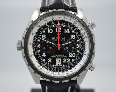 Breitling Chronomatic A22360 Steel 24HR Limited Edition Chronograph Automatic Watch