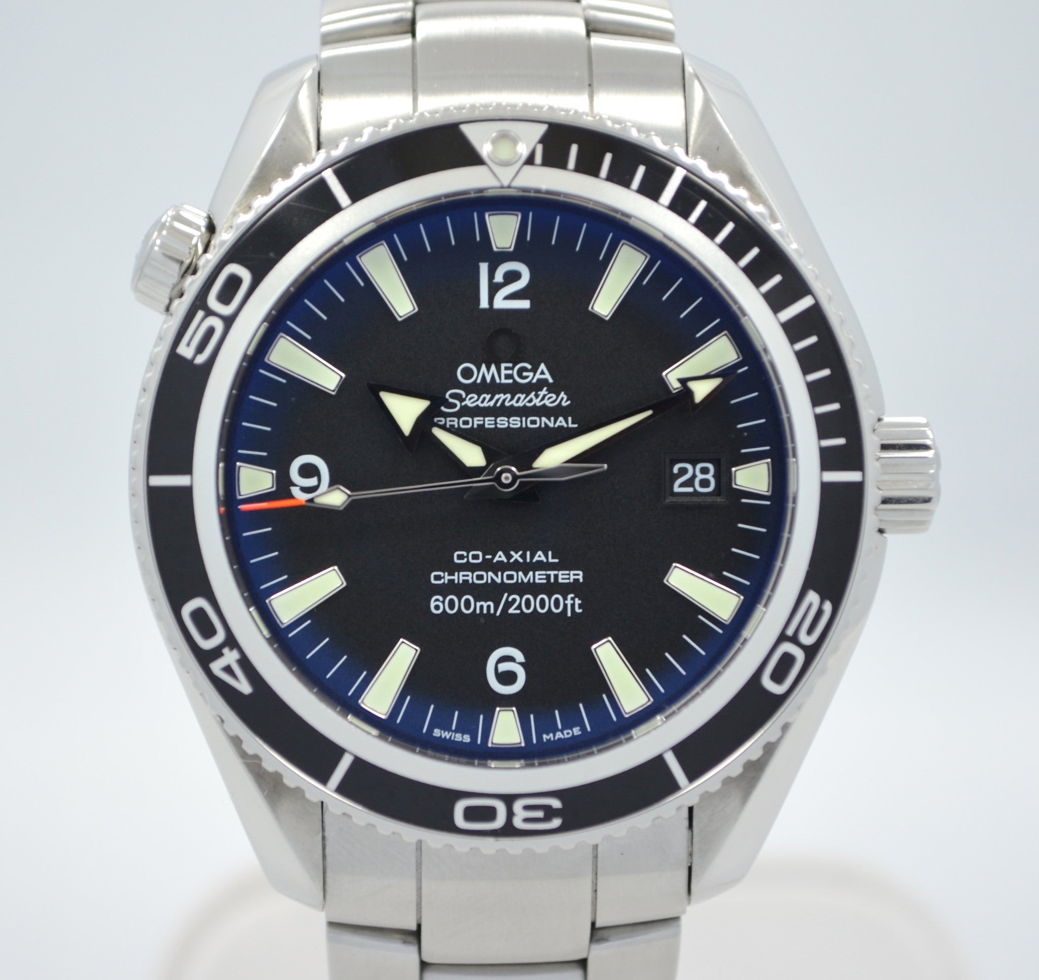 Omega Seamster Planet Ocean 2201.50 Steel Automatic Co-Axial Wristwatch - Hashtag Watch Company