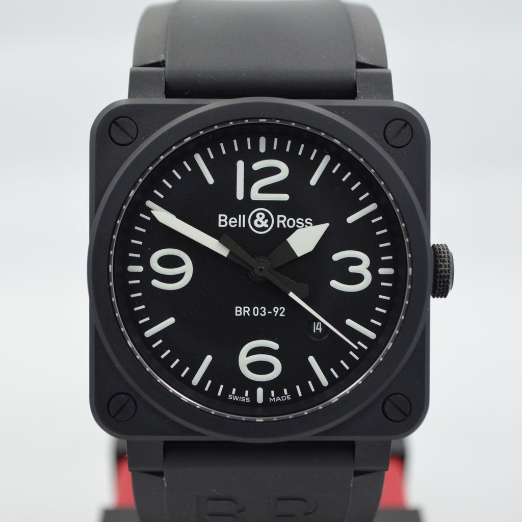 Bell & Ross BR03-92 Aviation Ceramic Automatic Wristwatch
