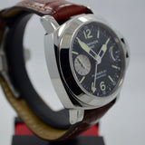 Panerai Luminor GMT PAM 88 Steel Automatic Wristwatch - Hashtag Watch Company