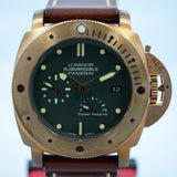 Panerai Bronzo Pam 507 Luminor 1950 Submersible Power Reserve 3 Days Watch - Hashtag Watch Company