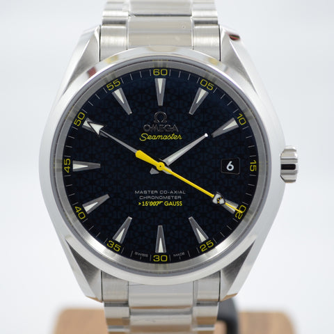 Omega Seamaster Aqua Terra James Bond SPECTRE 231.10.42.21.03.004 Steel Watch