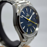 Omega Seamaster Aqua Terra James Bond SPECTRE 231.10.42.21.03.004 Steel Watch - Hashtag Watch Company