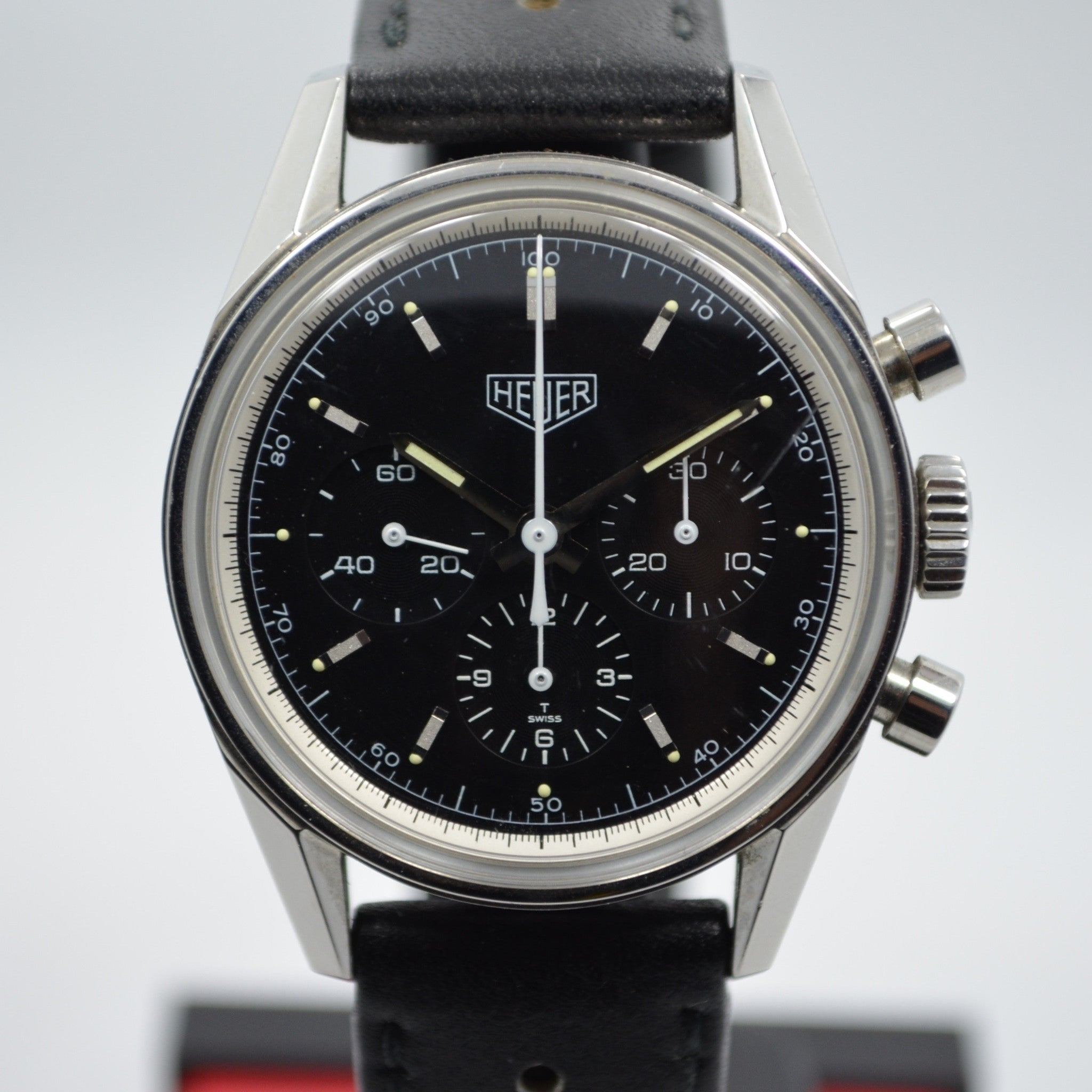 Tag Heuer CS31111 Heuer Carrera Steel Chronograph 1964 Re-Edition Wristwatch