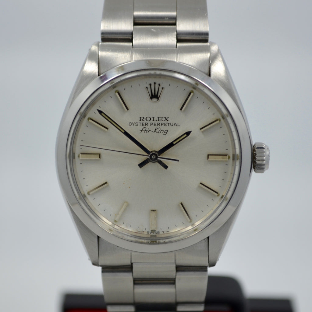 Vintage Rolex Oyster Perpetual Air King 5500 Steel Cal. 1520 Automatic Watch