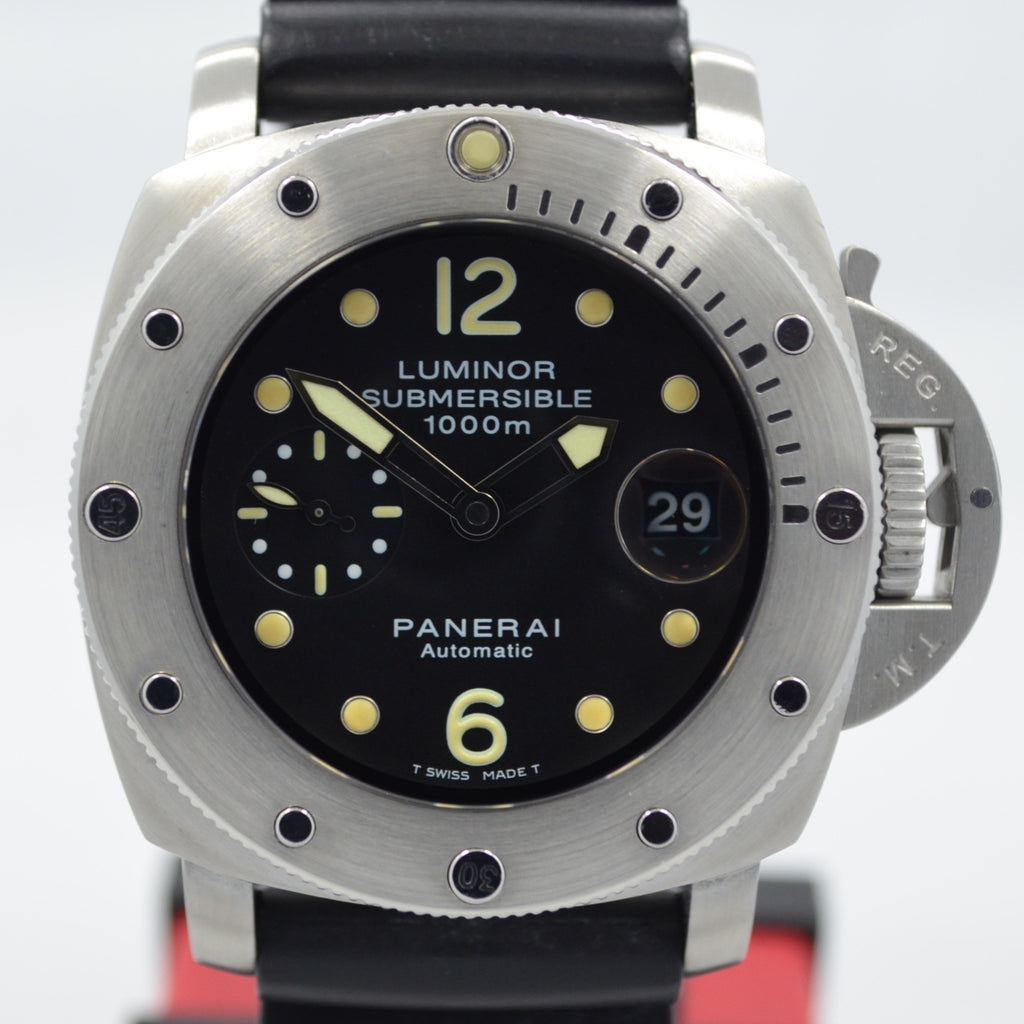 Panerai Luminor Submersible 1000 PAM 243 Steel Automatic Wristwatch