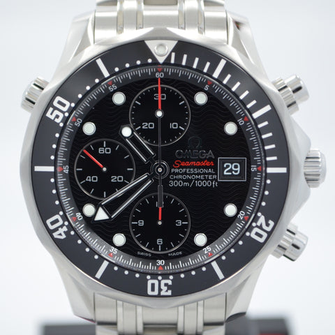 Omega Seamaster Professional 213.30.42.40.01.001 Chronograph 300M Steel Watch