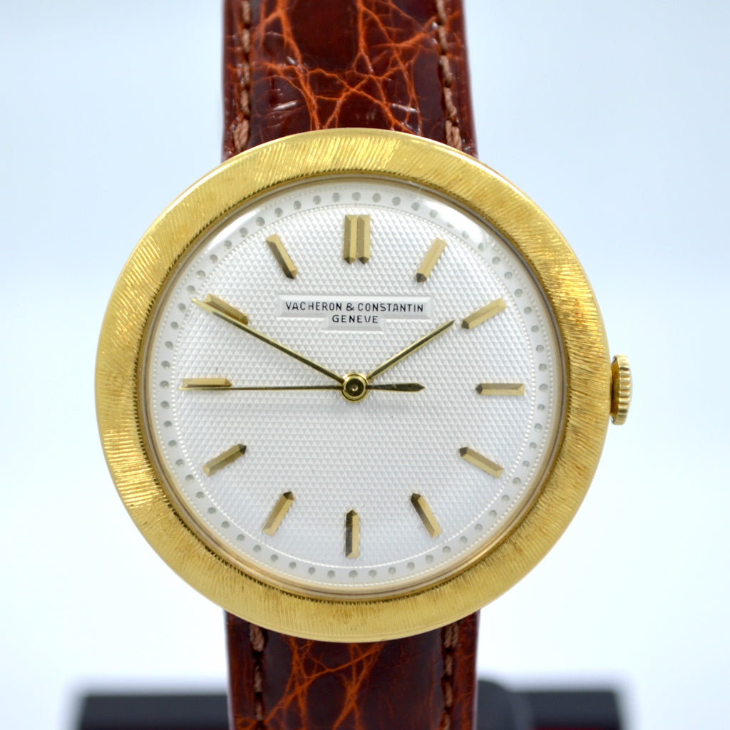 Vintage Vacheron Constantin 18K Yellow Gold Manual Wind Mens Dress Watch 1950's