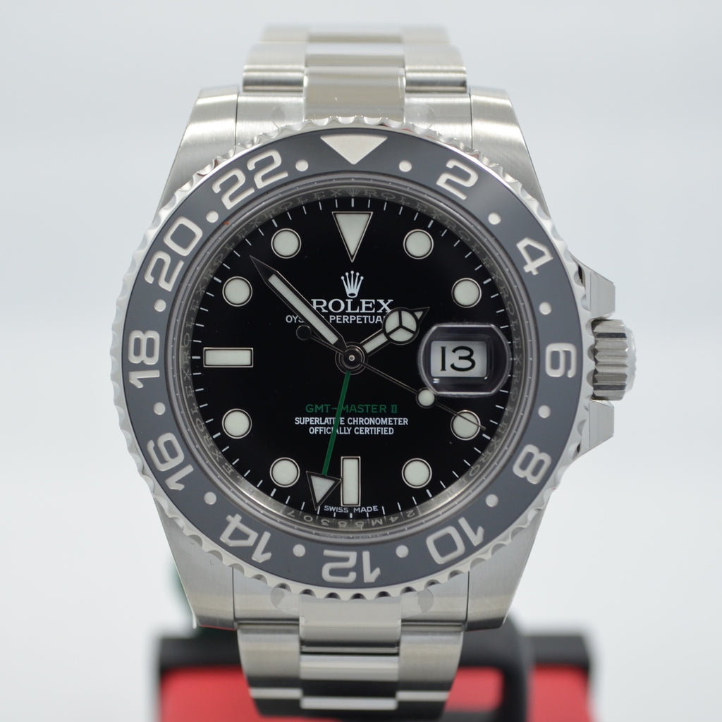 Rolex GMT Master II 116710 Stainless Steel Ceramic Automatic Mens Random Watch
