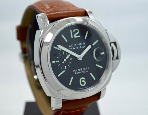 "Panerai Luminor Marina PAM 104 44mm ""E"" Series Steel Automatic Watch"