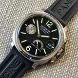 Panerai Luminor PAM 125 40mm Stainless Steel Automatic Wristwatch Box Papers - Hashtag Watch Company