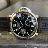 Panerai Luminor PAM 125 40mm Stainless Steel Automatic Wristwatch Box Papers