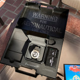 Breitling EMERGENCY MISSION A73322 Stainless Steel Chronograph Aviation Wristwatch Box Papers