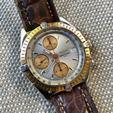 Breitling Chronomat 13047 Stainless Steel Gold Two Tone Chronograph Automatic Wristwatch - Hashtag Watch Company