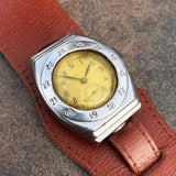 Vintage Seiko WWII Pilots Wristwatch Seikosha Manual Wind Wristwatch 1940's