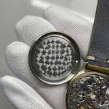 1960s Vintage Paul Portinoux Medical Pulsations Chronograph Single Button Valjoux 22 Steel Wristwatch - Hashtag Watch Company