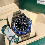 Rolex GMT Master II 116710 BLNR Batman Ceramic Steel Automatic Wristwatch Box Papers