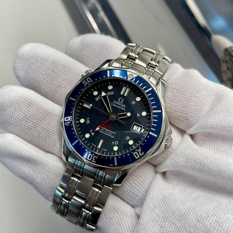OMEGA Seamaster 300 GMT Professional 2535.80 Co-Axial Automatic Blue 41mm Wristwatch