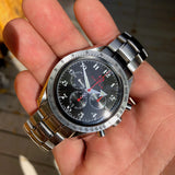 Omega 3557.50.00 Speedmaster Broad Arrow Olympic Collection Chronograph Wristwatch Box Papers - Hashtag Watch Company